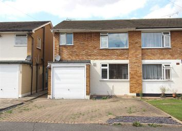 Thumbnail 3 bed semi-detached house to rent in Glebe Close, Rayleigh