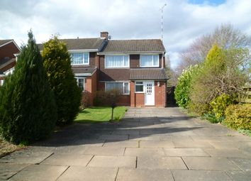 Thumbnail 3 bed semi-detached house to rent in Girdlers Close, Styvechale, Coventry, West Midlands