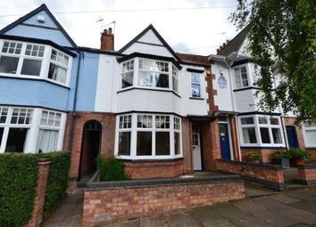 Thumbnail 3 bed terraced house to rent in Dovedale Road, Stoneygate, Leicester