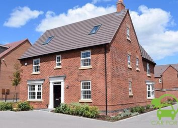 "Thumbnail 5 bedroom detached house for sale in ""Moorecroft"" at Orton Road, Warwick"