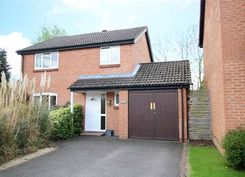 Thumbnail 4 bed link-detached house for sale in Plympton Close, Earley, Reading, Berkshire