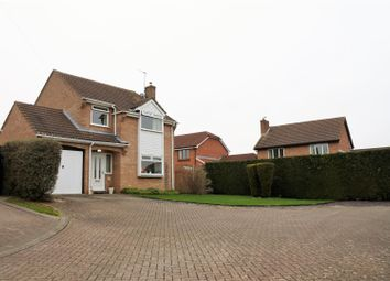Thumbnail 3 bed detached house for sale in Pinewood Drive, Gonerby Hill Foot, Grantham