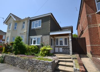 Thumbnail 4 bed semi-detached house for sale in Churchill Road, Parkstone, Poole