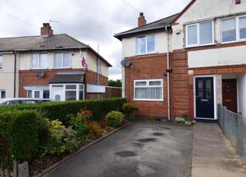 Thumbnail 2 bedroom end terrace house for sale in Holcombe Road, Tyseley, Birmingham, West Midlands