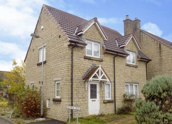 Thumbnail 3 bed semi-detached house for sale in Old Forge Close, Brinkworth, Chippenham