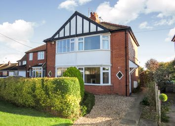 Thumbnail 2 bed semi-detached house for sale in Mill Lane, Saxilby, Lincoln