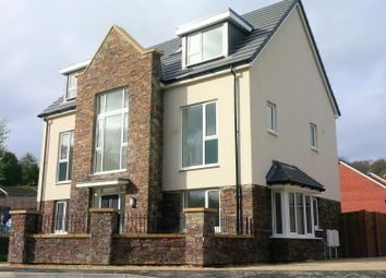 Thumbnail 5 bed detached house for sale in Gower Road, Sketty, Swansea