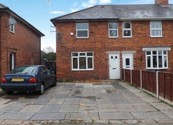 Thumbnail 3 bedroom end terrace house for sale in Perry Common Road, Erdington, Birmingham
