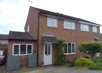 Thumbnail 3 bed semi-detached house for sale in Anderson Close, Needham Market, Ipswich