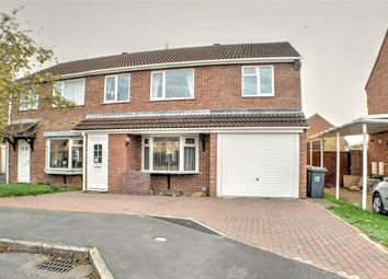 Thumbnail 4 bed semi-detached house for sale in Ambleside Close, Sleaford