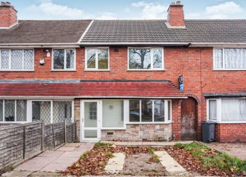 Thumbnail 3 bed terraced house for sale in Grindleford Road, Great Barr