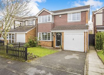 Thumbnail 4 bed detached house for sale in Ludlam Close, Countesthorpe, Leicester