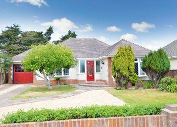 Solent Drive, Barton On Sea, New Milton BH25. 3 bed detached bungalow for sale