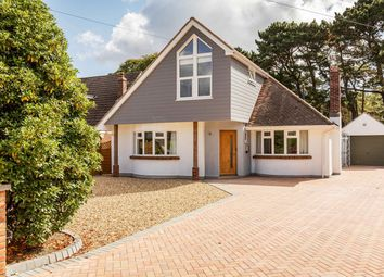 Thumbnail 4 bedroom detached house to rent in Talbot Woods, Bournemouth, Dorset