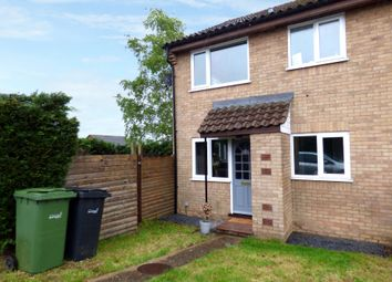 Thumbnail 1 bed end terrace house for sale in St. Davids Close, Long Stratton, Norwich