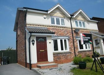 Thumbnail 2 bed semi-detached house to rent in Lowerbrook Close, Horwich, Bolton