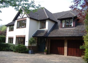 Thumbnail 5 bed detached house to rent in Pyrford Woods, Pyrford, Woking, Surrey