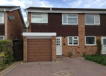 Thumbnail 3 bed semi-detached house to rent in Austwick Close, Woodloes, Warwick