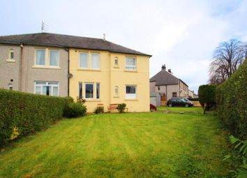 Thumbnail 2 bed flat for sale in Kilbarchan Road, Johnstone, Renfrewshire