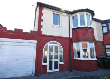 Thumbnail 3 bed semi-detached house for sale in Sheringham Avenue, North Shields