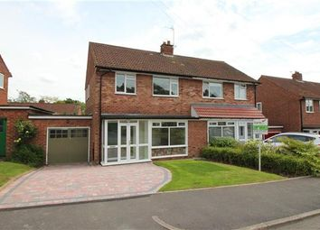 Thumbnail 3 bed semi-detached house for sale in Ryebank Close, Bournville, Birmingham