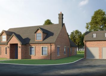 Thumbnail 4 bed detached house for sale in Gainsborough Road, Middle Rasen, Market Rasen