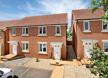Thumbnail 2 bedroom semi-detached house for sale in Henrys Run, Cranbrook, Exeter