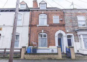 Thumbnail 5 bed terraced house for sale in Grafton Street, Hull