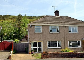 Thumbnail 3 bed semi-detached house for sale in Danygraig Drive, Talbot Green, Pontyclun, Rhondda, Cynon, Taff.