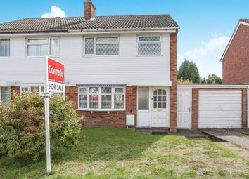 Thumbnail 3 bed semi-detached house for sale in Beechcroft Crescent, Streetly, Sutton Coldfield