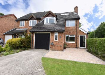 Thumbnail 4 bed semi-detached house for sale in Ajax Close, Chineham, Basingstoke