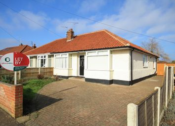 Thumbnail 3 bed semi-detached bungalow to rent in Gordon Avenue, Thorpe St Andrew, Norwich
