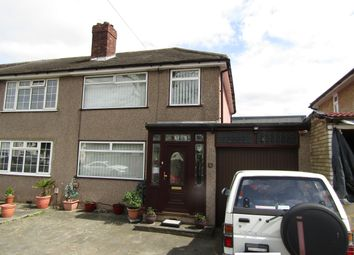 Thumbnail 3 bed end terrace house for sale in Spring Gardens, Elm Park, Essex