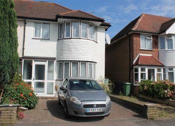 Thumbnail 3 bed semi-detached house to rent in Brampton Grove, Harrow
