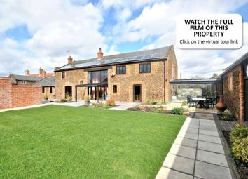 Thumbnail 4 bed barn conversion for sale in Lynn Road, Hillington, King's Lynn