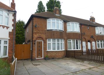 Thumbnail 2 bedroom end terrace house for sale in Bradston Road, Leicester