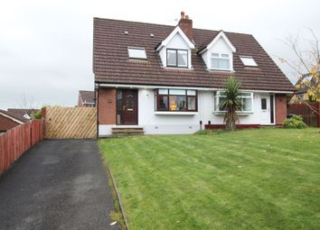Thumbnail 3 bed semi-detached house for sale in Hollybrook Crescent, Newtownabbey
