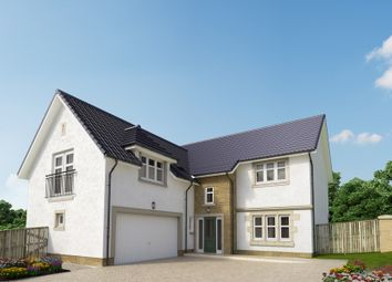 "Thumbnail 5 bed detached house for sale in ""The Melville"" at Peel Road, Thorntonhall, Glasgow"