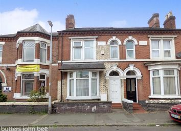 Thumbnail 6 bed terraced house for sale in Walthall Street, Crewe