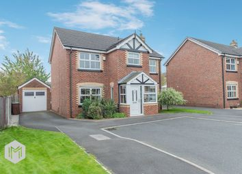 Thumbnail 4 bed detached house for sale in Walkers Drive, Leigh