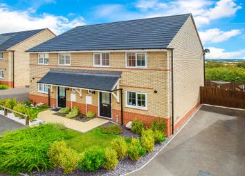 Thumbnail 3 bed semi-detached house for sale in Forbes Drive, Corby