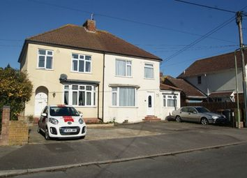 Thumbnail 3 bed semi-detached house to rent in The Crescent, Andover, Hampshire