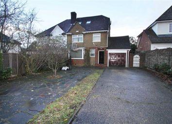 Thumbnail 4 bed semi-detached house to rent in Furzehill Road, Borehamwood, Herts