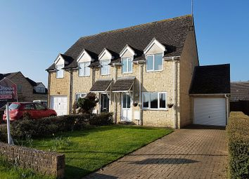 Thumbnail 3 bed semi-detached house for sale in Coxmoor Close, Kingham, Chipping Norton, Oxfordshire