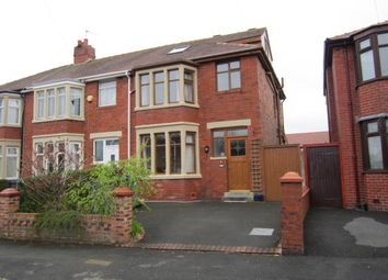 Thumbnail 3 bed end terrace house to rent in Doncaster Road, Blackpool