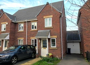 Thumbnail 3 bed semi-detached house to rent in Hollands Way, Kegworth, Derby