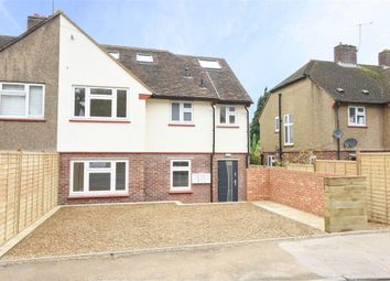 Thumbnail 2 bed flat for sale in Campbell Road, Weybridge, Surrey