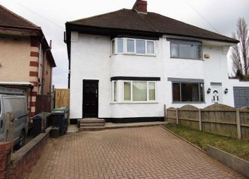 Thumbnail 3 bed semi-detached house to rent in Wolverhampton Road, Oldbury, Birmingham
