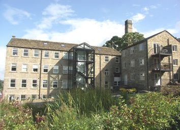 Thumbnail 1 bedroom flat for sale in Nabb View, Underbank Old Road, Holmfirth