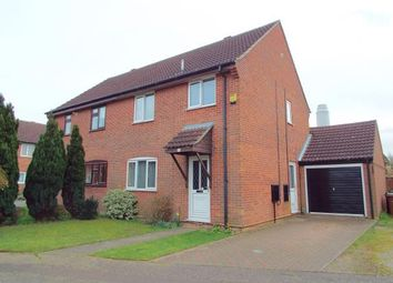 Thumbnail 3 bed semi-detached house for sale in New Costessey, Norwich, Norfolk